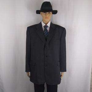 Fioravanti gray twill sport jacket men's size 50L